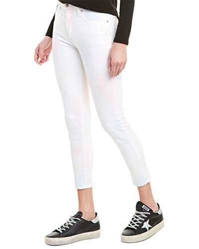 Joe's Jeans Womens The Charlie Tonica High-Rise Skinny Crop, 28, White