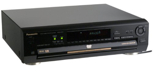 Affordable Panasonic DVD-CV51 5-Disc DVD Player
