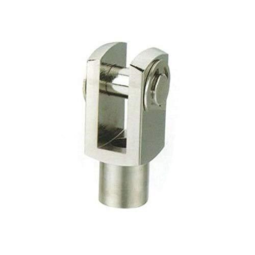 Partes neumáticas Piezas de cilindros neumáticos M4 M5 M6 * 1 M8 * 1.25 M10 * 1.25 M12 * Conector de tipo 1.25 y con bloqueo Piezas neumáticas fáciles de usar, resistentes y d ( Color : M16 (Y 50) )