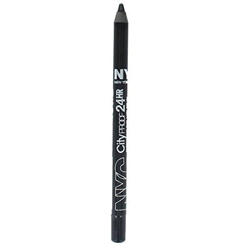 NYC Waterproof Eyeliner Pencil - Black