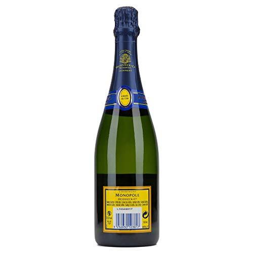 Champagne Monopole Heidsieck Blue Top Brut - 4