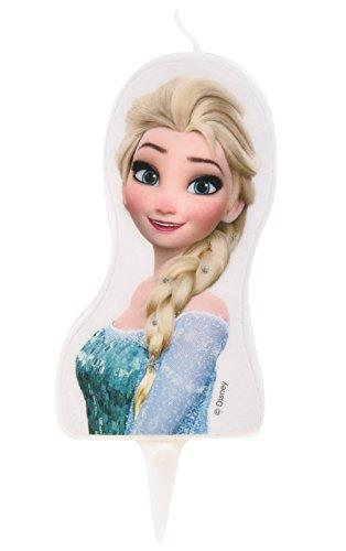Vela 2d Frozen Elsa la Reine des Neiges–Gateau cumpleaños Decoración–228