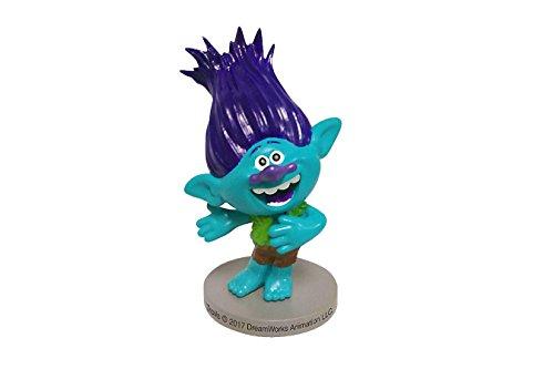 Dekora - Decoracion para Tartas con la Figura de Branch de Trolls de PVC