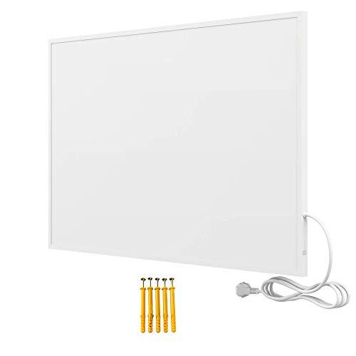 Bringer Infrarotheizung Infrarot Wandheizung Heizung Heizkörper Thermostat (600 Watt, Heizplatte ohne Zubehör)
