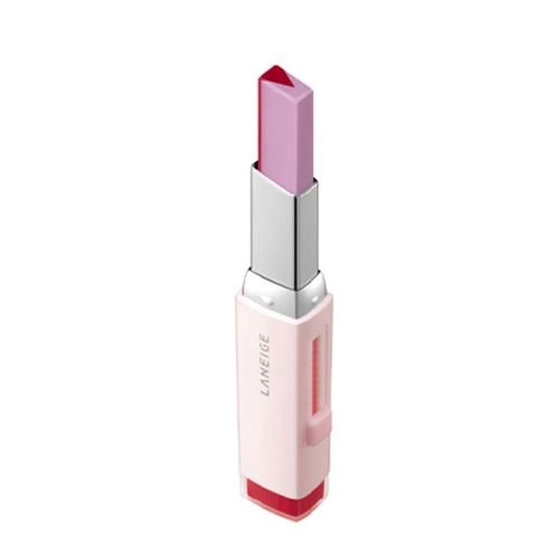 レイ最適ドリル[New] LANEIGE Two Tone Tint Lip Bar 2g/ラネージュ ツー トーン ティント リップ バー 2g (#07 Lollipop Red) [並行輸入品]