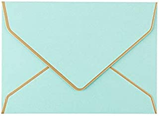 GYHS 10pcs/lot Vintage Retro Colored Blank Pearl Paper Envelopes Wedding Party Invitation Envelope Greeting Cards Gift 175...