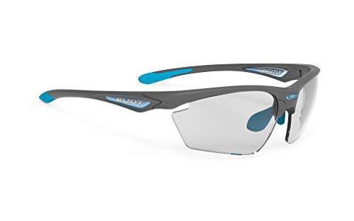 Rudy Project Stratofly Brille pyombo Matte - impactx photochromic 2 Black 2021 Fahrradbrille