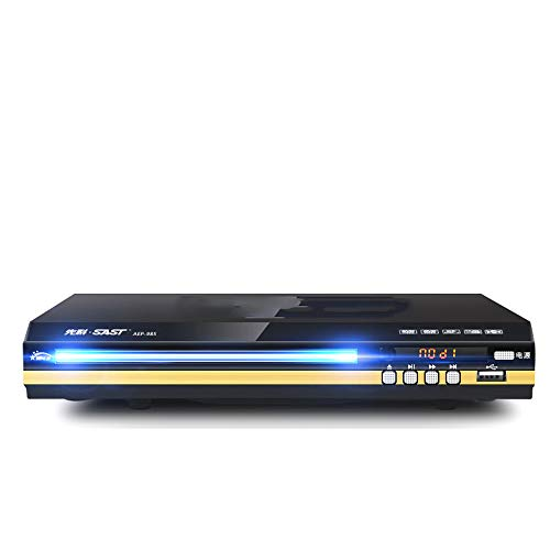 MKIU HD-DVD-Player, HDMI Augenschutz, USB Multimedia-Wiedergabefunktion, mit Mikrofon Spiel-Interface, Acht-Core-Dual-High-Definition-Volume-Surround-Ausgang,Normal Version
