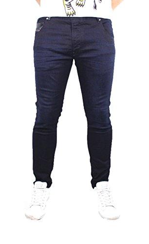 Diesel Herren Slim Jeans Krooley-Ne, Blau (Dark...