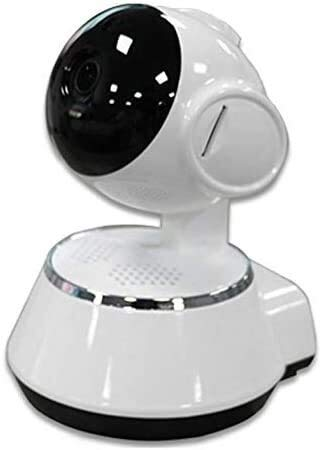 Hancoc Buena Conexión WiFi Cámara IP 720P HD DVR Smart Wireless Audio Grabación De Vídeo Vigilancia CCTV Cámara De Seguridad Inicio - Blanco