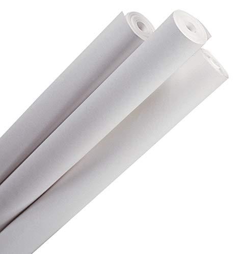 MarpaJansen Zeichenpapier/Skizzenpapier - gerollt - (70 cm x 50 m. 1 Rolle, 100 g/m²) - weiß