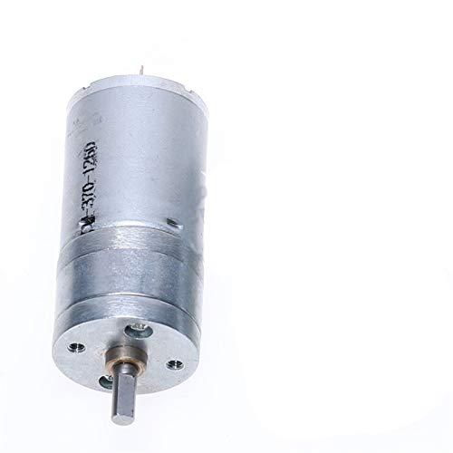 X-BAOFU, Motor 1PC JGA25-370 DC motorreductor de 6V 12V 24V de Alto par Motor eléctrico de Engranajes 12 RPM / 25 RPM / 36RPM / 60RPM / 130RPM / 620RPM / 1360RPM (Color : 620RPM, tamaño : 6V)