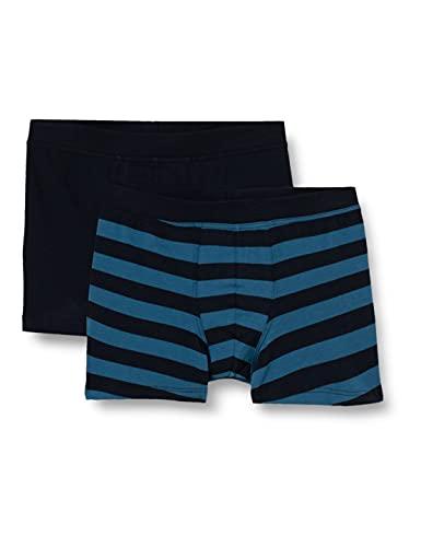 Schiesser Jungen Unterwäsche Boxershorts 2er Pack weiches Bündchen - 95/5 Organic Cotton, Mehrfarbig 1, 164