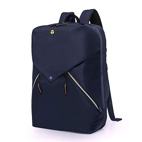 KK Timo Damen Casual Computer Tasche licht Student Tasche im freien Reise multifunktions Rucksack männlichen wasserdichte diebstahlsicherung 20L (Color : Blue)