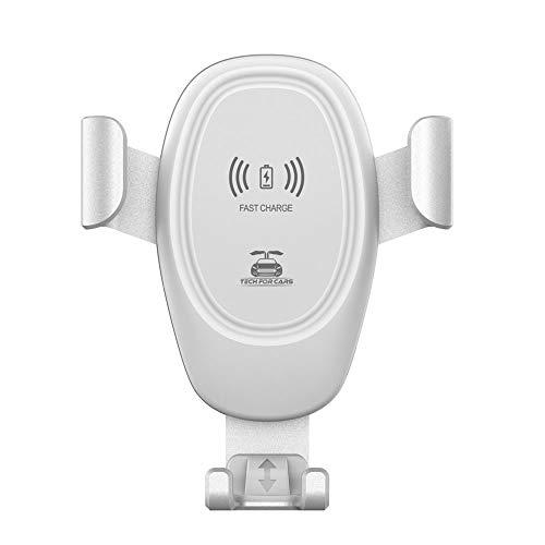 Walmeck D12 Kfz-Ladegeräte für kabellose Montage Autotelefonhalter im Entlüftungsclip-Ständer für alle 4-6-Zoll-Telefone