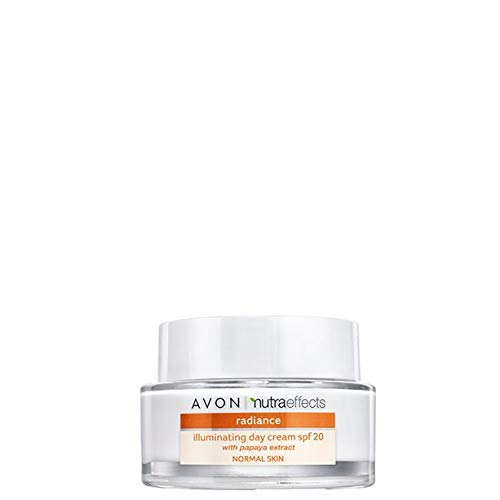 Avon Nutra Effects Radiance Tagescreme LSF 20 für normale/müde wirkende Haut - strahlender Booster