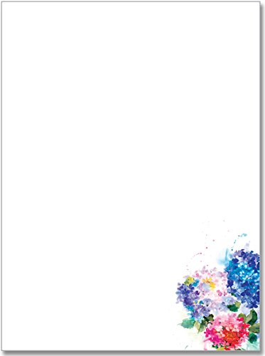Hydrangeas Stationery Set (Boxed Stationery)