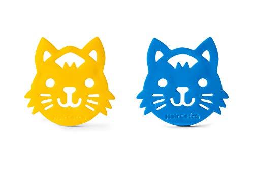 HairCatch de MilkMama | Recoge Pelos para la Colada | Atrapador Pelo Mascotas Reutilizable | Recoge Pelos Mascotas para Lavadora y Secadora | Set Atrapador Pelo Animales| Forma de gato - 2 piezas