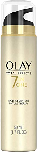 Olay Total Effects 7-In-1 Face Moisturizer Plus Mature Therapy, Beige, 1.7 Fl Oz