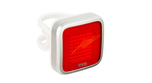 Knog Blinder MOB Mr Chips luz trasera para bicicleta Plateado plata