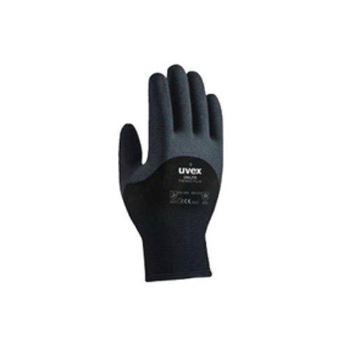 Uvex Arbeitshandschuhe Unilite Thermo Plus Schutzhandschuh Optimaler Schutz für kalte Temperaturen (11/XXL, Schwarz)