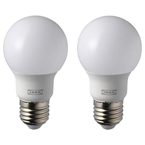IKEA RYET LED-Birne, E27, 600 Lumen, 5000 K, Tageslicht, 2 Stück