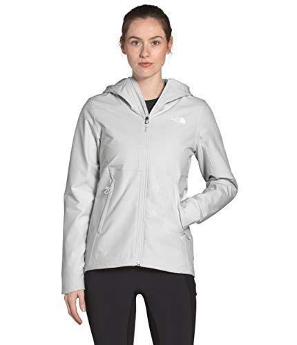 The North Face Sudadera con capucha Shelbe Raschel para mujer, gris estaño, XXL