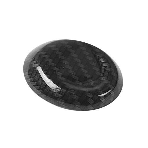 ZRNG Cubierta del Panel Central del Coche Engranajes Perilla del Cambio de Cabeza Recortada en Forma for el Chevrolet Camaro 2017+ ABS Carbono Easy to Install (Color Name : As pic)