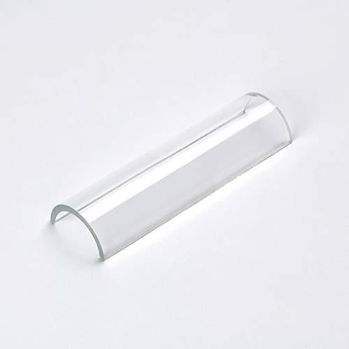 Schutzglas für Deckenfluter, R7s, für 118mm Stäbe Ersatzglas Glas Halogen (78mm)
