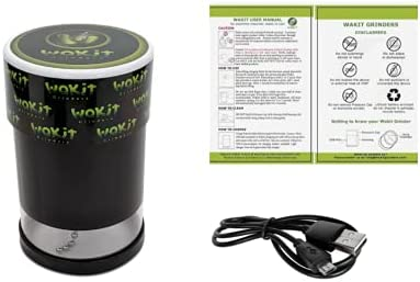 Wakit Grinders Best Electric Grinder Black Herb Surprise price Max 71% OFF