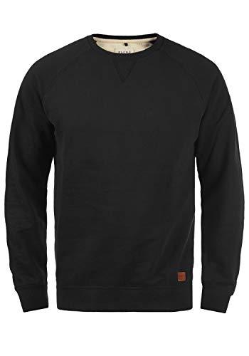 BLEND Alex - Sudadera para Hombre, tamaño:L;color:Black (70155)