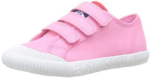 le coq Sportif Nationale PS Sport, Sneaker Unisex-Bambini, Bianco Pink Carnation, 32 EU