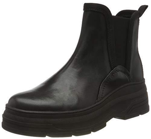 MARCO TOZZI Damen 2-2-25469-25 Leder Boot Chelsea-Stiefel, Black Comb, 41 EU