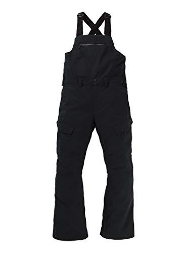 Burton Reserve Bib Pantalon De Snowboard, Hombre, True Black, M