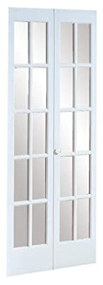 "American Wood Products 852720 527 Traditional 24"" x 80"" Divided Glass, Unfinished"