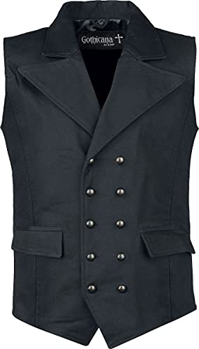 Gothicana by EMP From Safety To Where Homme Veste noir L, 100% Coton,