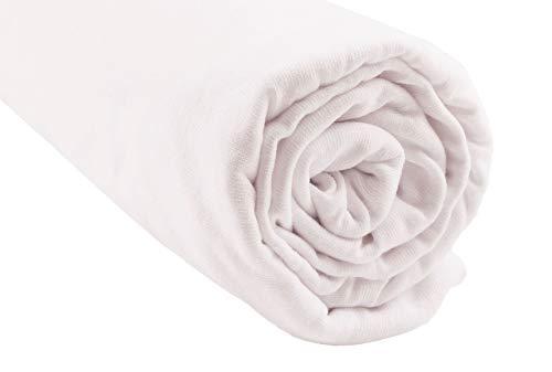 Spännlakan bomull bio för säng 140 x 190/140 x 200 – vit