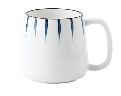 Teekanne Keramikbecher Handbemalte Wasserschale Kaffeetasse mit großer Kapazität-Chiba Reisetasse