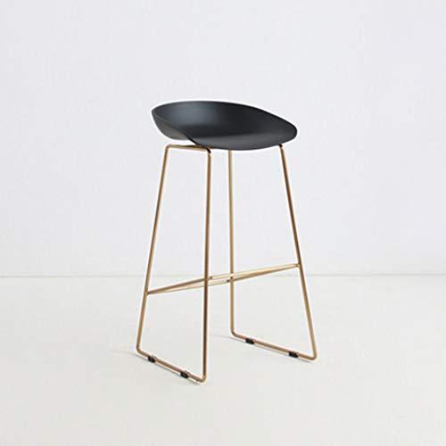 ☀ JBD Moderne Simple Chaise De Bar Fer Art Tabouret sur Pied Design Créateur Comptoir Siège Café Restaurant Restaurant (Couleur : G)