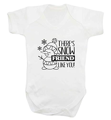 Flox Creative Snow Friend Like You Gilet pour bébé - Blanc - XXL