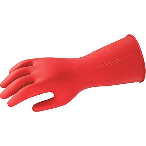 Comasec & souci industriel d013085–01, gants, multi-usages, léger, g01r, liquide chimique et protection, Taille 8,5, rouge (Lot de 12)