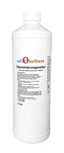 well2wellness Whirlpool/Swimmingpool Überwinterungsmittel 1,0 ltr.