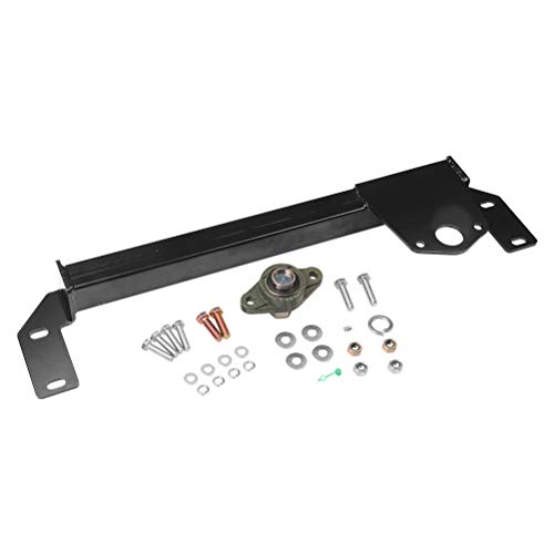 Steering Gear Box Stabilizer Kit - Fits 1994, 1995, 1996, 1997, 1998, 1999, 2000, 2001 Dodge Ram 1500, 94-02 Dodge Ram 2500, 3500 4WD - Steering Brace Bar - DSS Death Wobble Fix - Power Steering 4x4