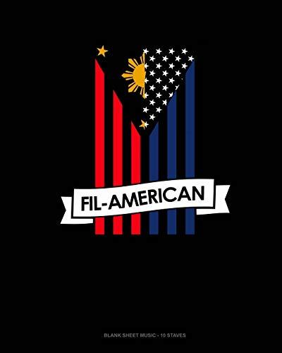 Fil-American: Blank Sheet Music - 10 Staves