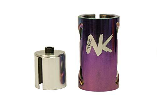 Nokaic SCS, Compresión de 4 Tornillos para Patinete Freestyle, Color Rainbow