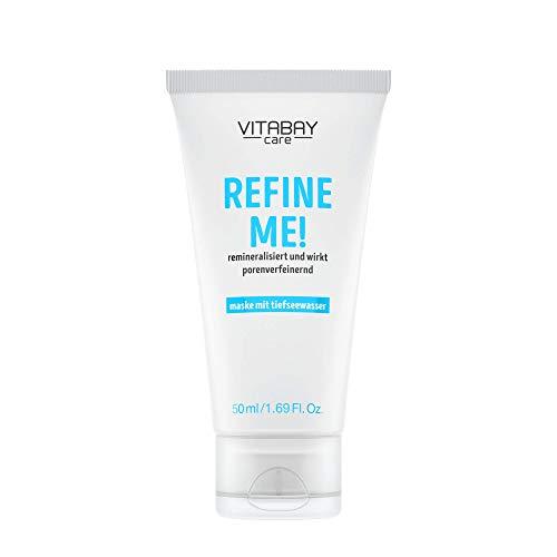 Refine Me! – Gesichtsmaske für Porenverfeinerung - Earth Marine Water & Meadowfoam Seed Oil - 50 ml