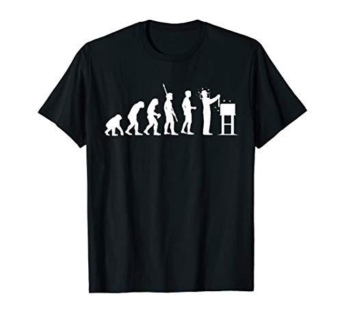 Imker Shirt Lustig Geschenk Geschenkidee Imker Evolution T-Shirt