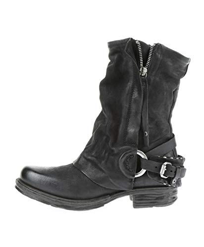 A.S.98 259214-101 - Damen Schuhe Boots Stiefel - 6002-nero-nero, Größe:40 EU