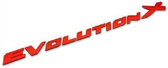 """Mitsubishi Emblem Logo Decal Sticker RED 3/"""""""