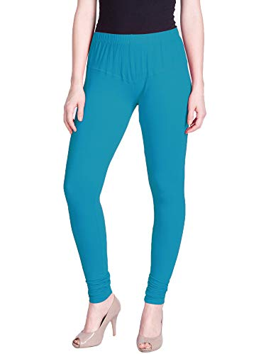 Lux Lyra Women's Leggings Silk_52_Blue Coracao_Free Size